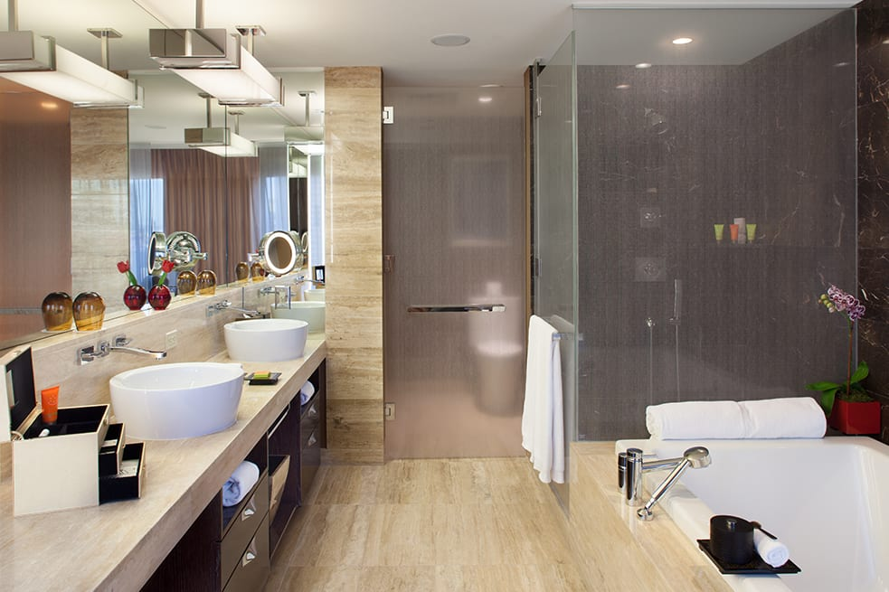 Strip View Room bathroom interior
