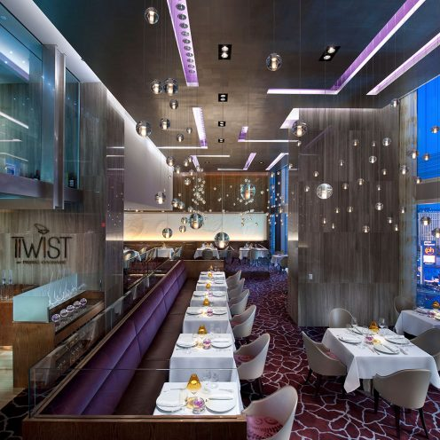 Twist by Pierre Gagnaire restaurant interior